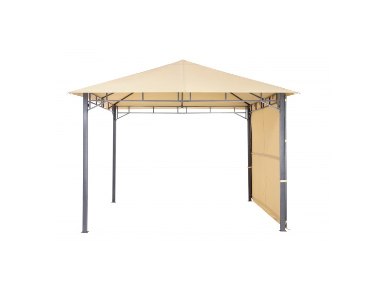 tepro metall garten pavillon lehua sand. Black Bedroom Furniture Sets. Home Design Ideas