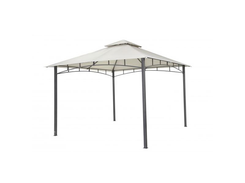 tepro metall garten pavillon waya hellgrau. Black Bedroom Furniture Sets. Home Design Ideas