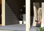 Terrassendiele Premium WPC - Silver Cedar