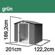 Tepro Gerätehaus Metall Riverton 6x4