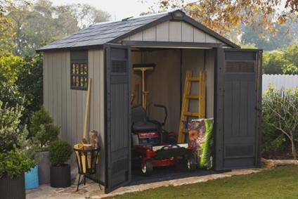 gartenhaus material welches material passt zu mir. Black Bedroom Furniture Sets. Home Design Ideas