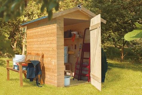 Neu Gerätehaus aus Holz CG26