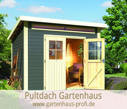 gartenhaus ger tehaus nach dachformen sortiert gartenhaus profi. Black Bedroom Furniture Sets. Home Design Ideas